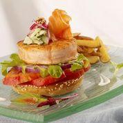Hubert Keller: Alaska Salmon Burger