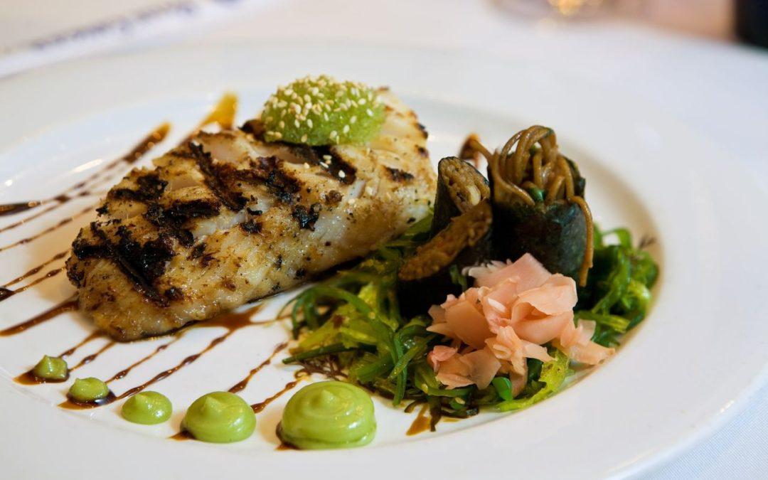 Ming Tsai: Sake-Miso Marinated Alaska Butterfish