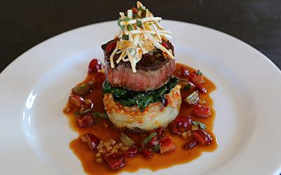 Raphael Lunetta:  Filet of Beef with Yukon Potato and Pear Gratin
