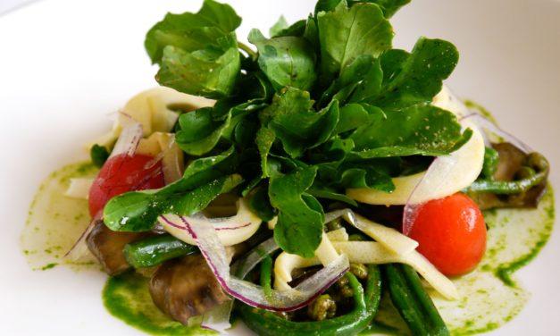 Georges Mavrothalassitis: Maitake Mushroom and Sumida Watercress Salad