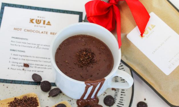 Maui Kuia Estate Chocolate: Hot Chocolate