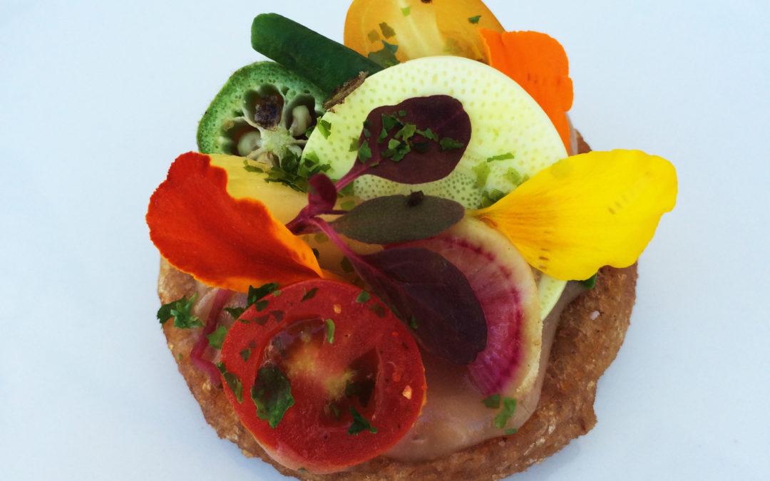 Lee Anne Wong: Poi Vegetable Tart