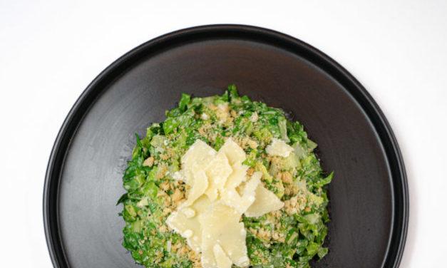 Sensei Ag: Classic Caesar Salad with Homemade Dressing