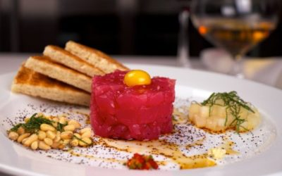 Michael Mina: Tartare of Ahi Tuna