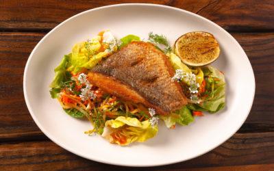 Marcel Vigneron: Thai Snapper & Green Mango Salad